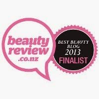 Finalist of Best beauty blog of NZ 2013
