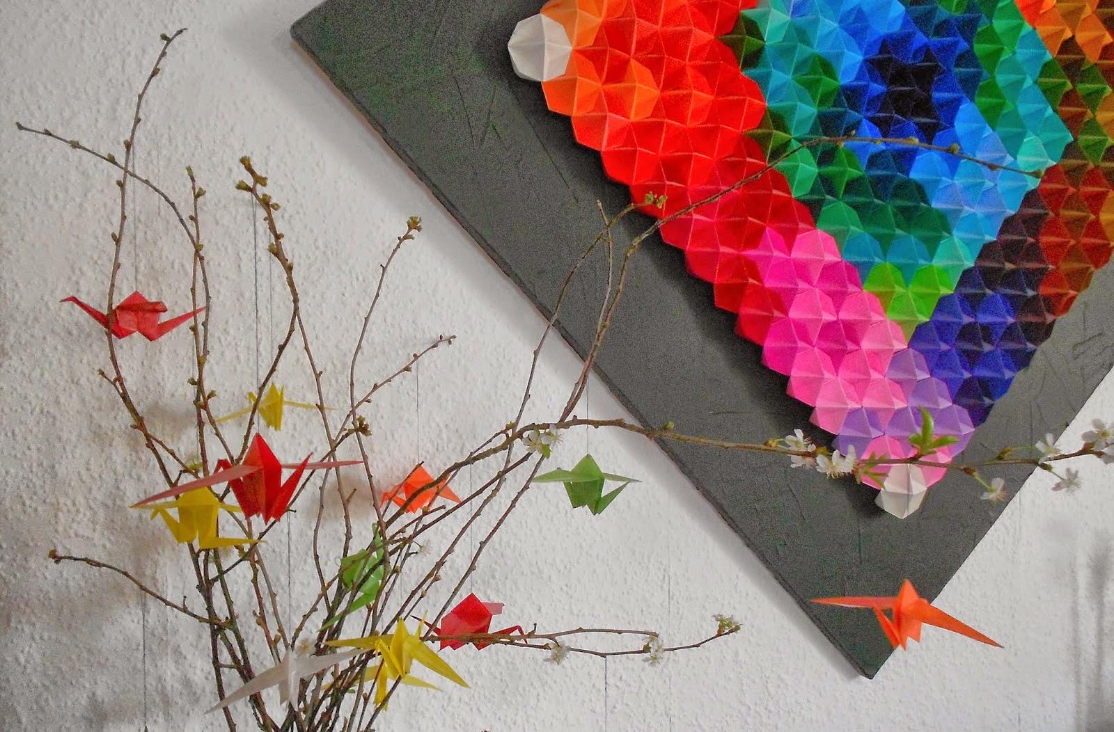Origami Kraniche
