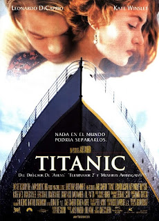 Cartel oficial de la película Titanic