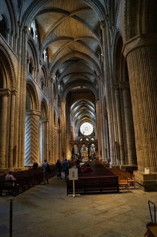 La catedral de durham for Catedral de durham interior