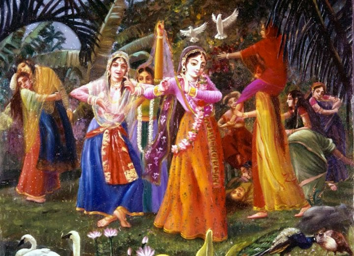 Krishna devotee dating