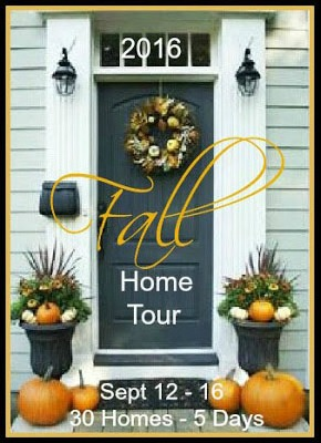 Join 21 Rosemary Lane and 29 other bloggers for 30 fantastic Fall Home Tours