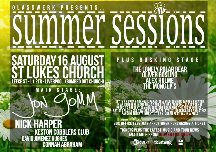 Summer Sessions Liverpool Jon Gomm, Nick Harper