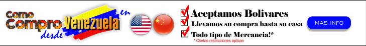 Como comprar con Bolivares en USA y China