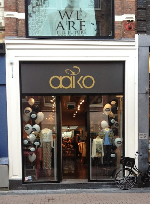 The Style Diary: NEWS: Aaiko opent store in Amsterdam