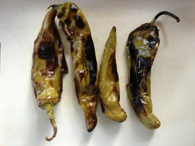 The Holland House: Roasted Hatch Chiles