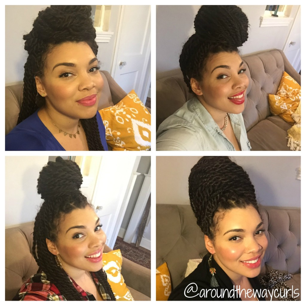 Miraculous Senegalese Twist Crown Up 39Do And Diy Hydrating Mist Recipe Short Hairstyles For Black Women Fulllsitofus
