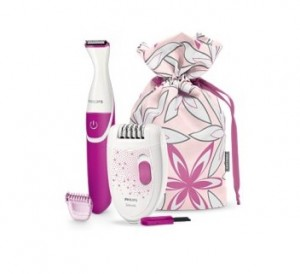 Buy Philips HP6548 Epilator & Bikini Trimmer Combo Pack & Rs. 200 Cashback Rs. 2699 + Rs. 200 Amazon Gift Card: BuyToearn