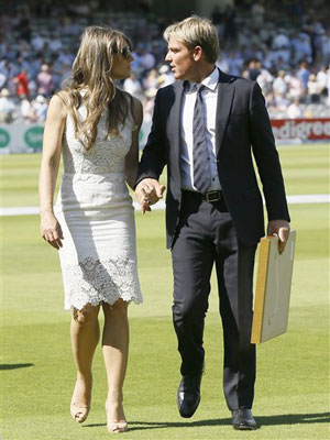 Shane Warne received ICC Hall of Fame