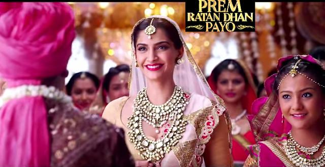 Prem Ratan Dhan Payo Songs - Sonam Kapoor Smiling
