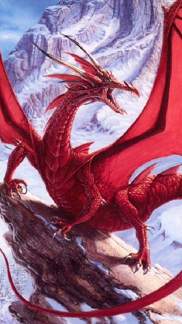 Con rồng đỏ hung dữ