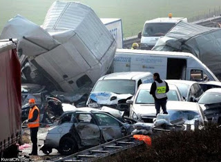 kecelakaan mengerikan