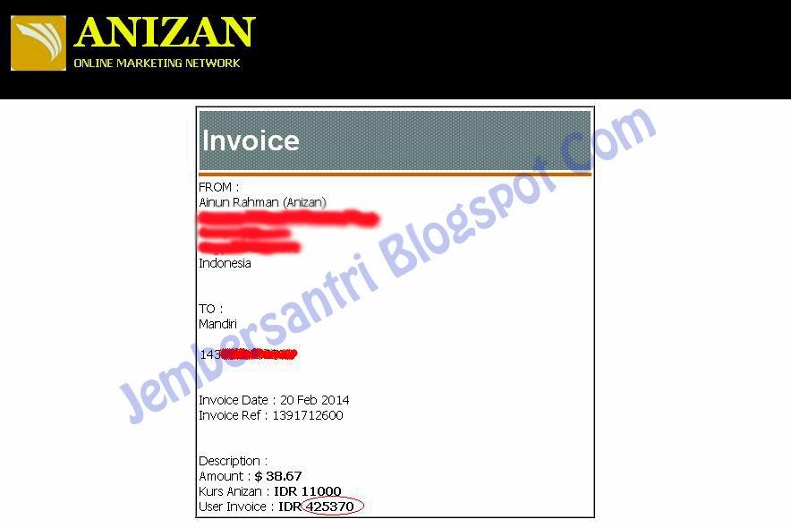 Anizan Online Marketing Network