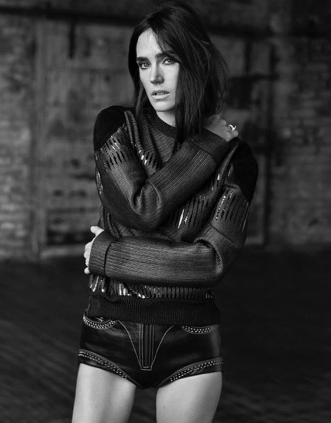Jennifer Connelly in Grazia Magazine - Photo Jennifer Connelly 2015