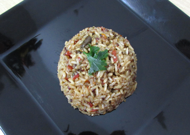 Arroz 8 Grãos à la Carte Funghi e Tomate Seco - Grings