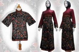 baju batik Muslim re