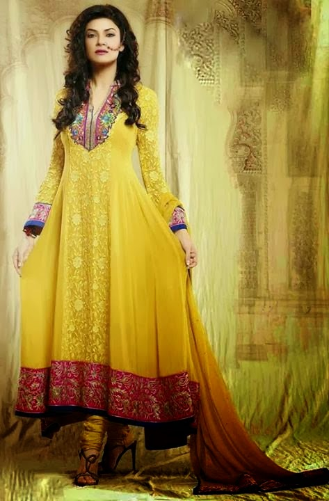 2 Suits For 99 >> Pakistani Celebrities In Yellow Mayun Dresses - B & G Fashion