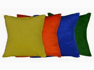 Buy Me Sleep-Vivid Colourful Velvet Cushion Cover at Rs.125 : Buy To Earn