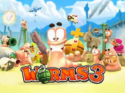 Worms 3 Apk Data Android Full İndir