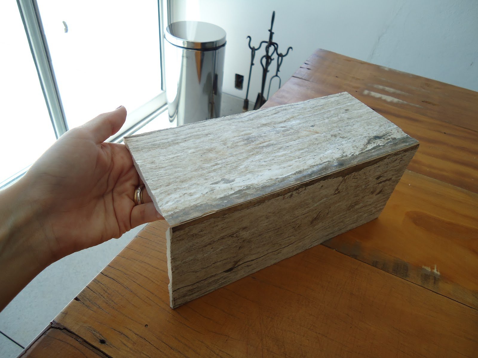 Como se começa uma FAMÍLIA: Montagem da bancada de porcelanato #644020 1600x1200 Banheiro Com Bancada De Porcelanato