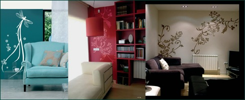 Pareti decorate - Pareti colorate in casa ...