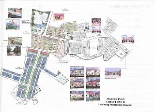 Master Siteplan tahap1 dan tahap 2 Banjarbaru Property
