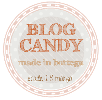 Blog Candy di Antonella