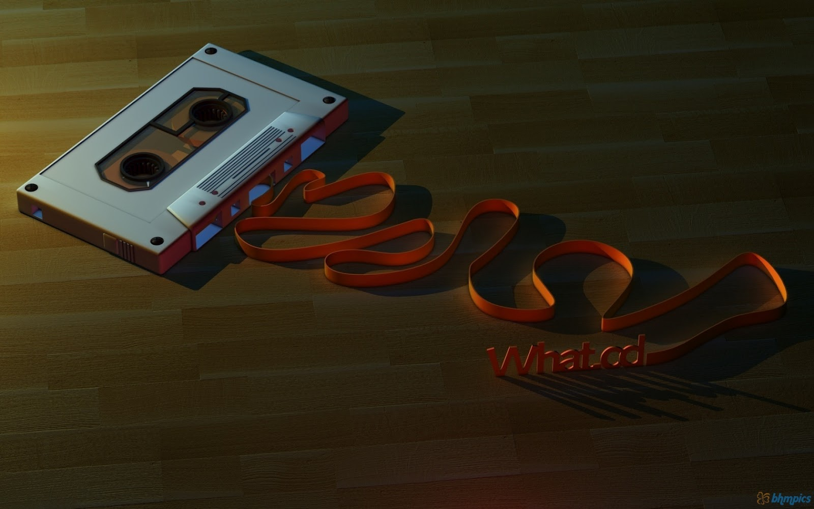 cassette tape red