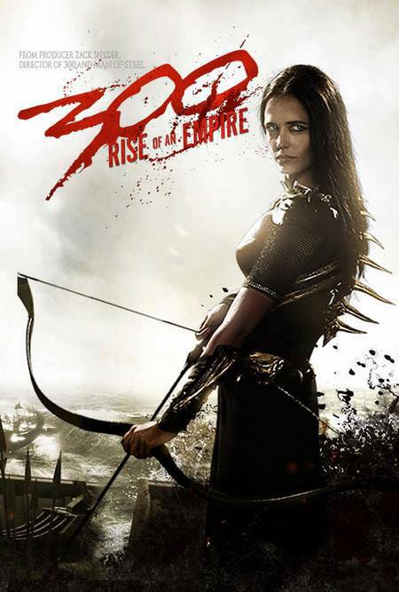 300: Rise Of An Empire Eva Green Character Poster