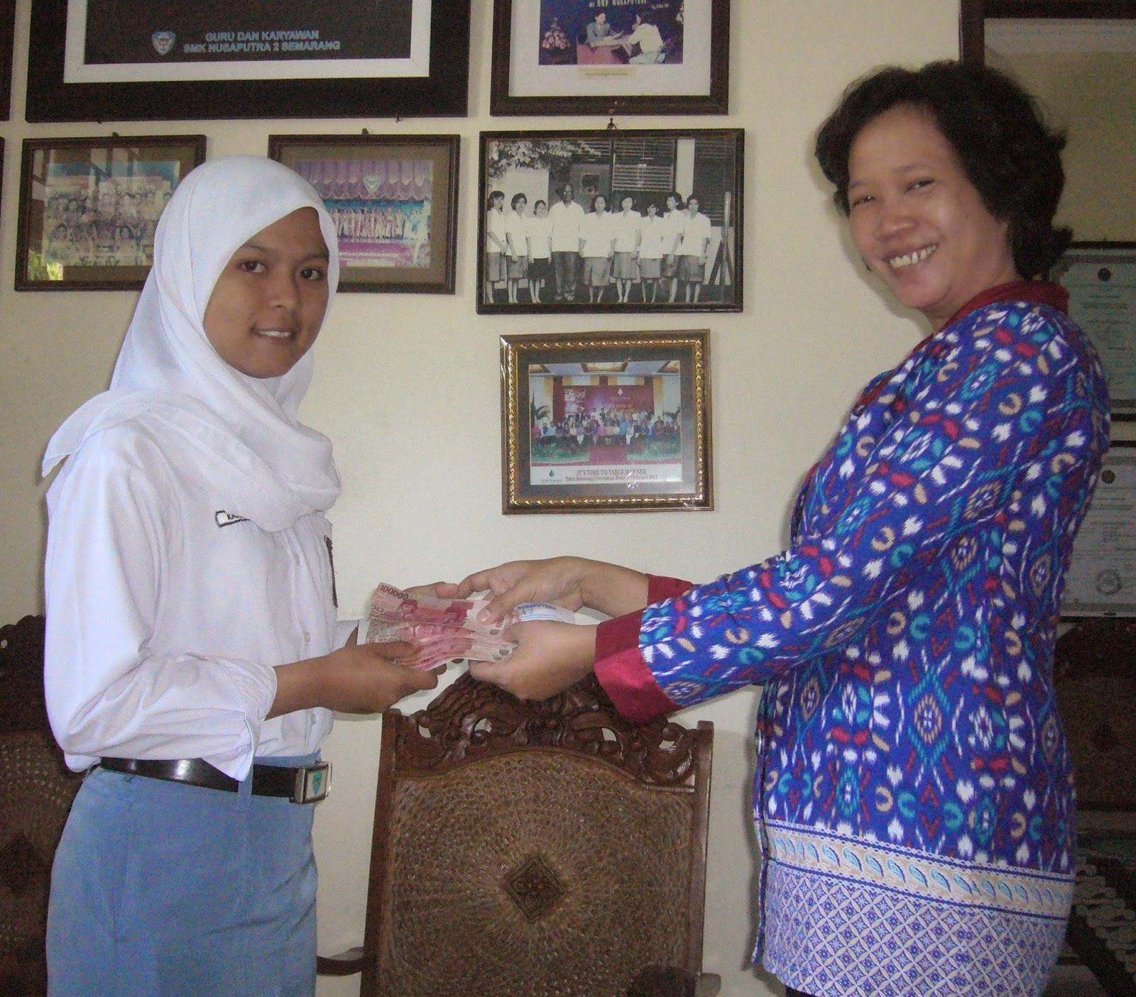 Fasilitas beasiswa SMK Nusaputera 2