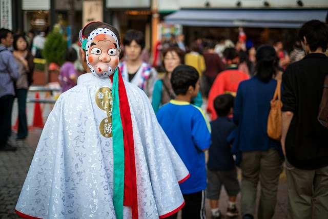 matsuri en Japón
