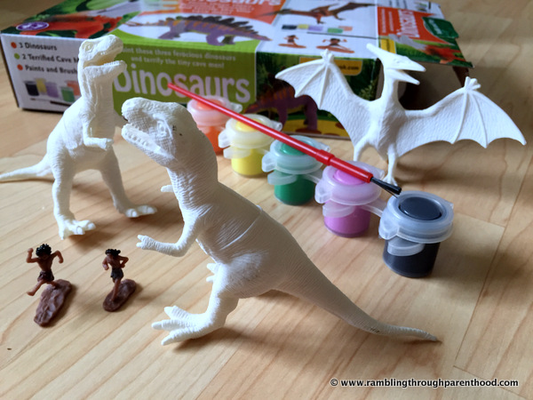Paint and Play Dinosaurs - Unboxed