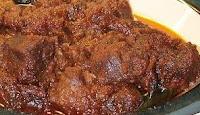 Cara membuat rendang daging sapi