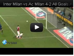 Video Inter Milan vs AC Milan