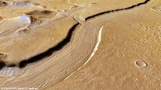 Русло марсианской реки; наши дни