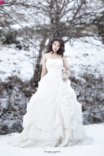 2 Yoon Joo Ha - Snow White-Very cute asian girl - girlcute4u.blogspot.com