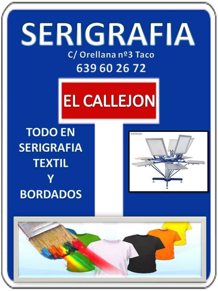 Serigrafía El Callejón