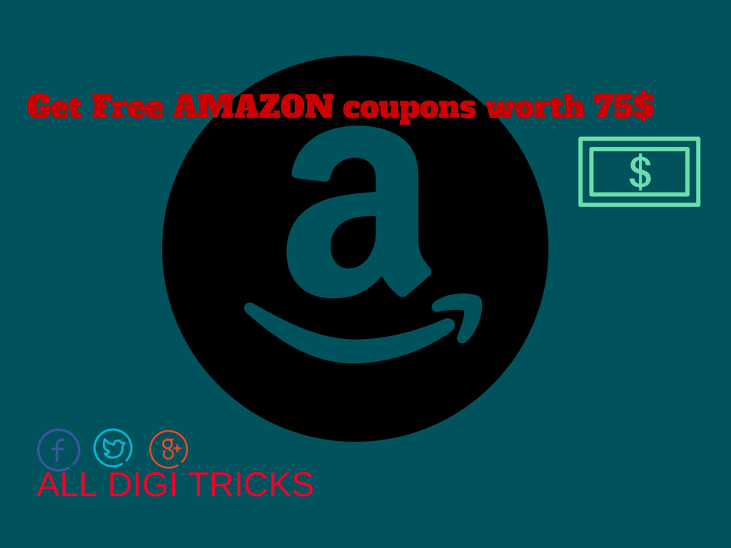 How to get Free AMAZON coupons--SECRET trick