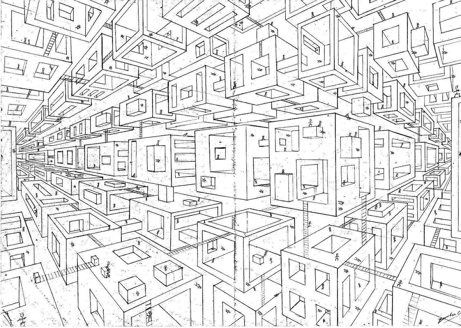 Christophe Bourbon Ville Cube Scan Debut Et Fin