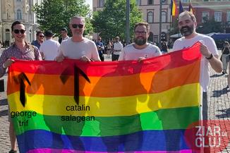 E bine de știut! Șefii USR Cluj, Cătălin Sălăgean și George Trif, susțin homosexualii și lesbienele