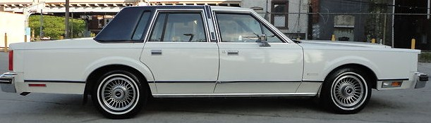 CLASSIC CARS OF THE 1980s I LOVE THE LINCOLN CONTINENTAL