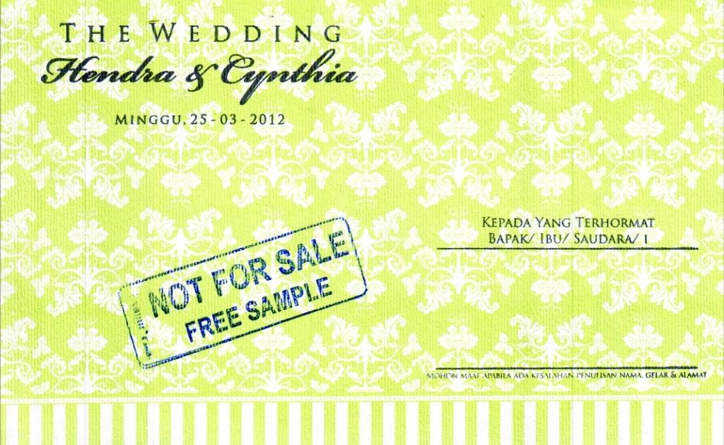 Kartu undangan pernikahan - Evanur OC 009h | Kartu Undangan