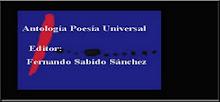 POETAS SIGLO XXI. ANTOLOGÍA MULDIAL. Editor: Fernando Sabido Sánchez.
