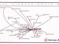 Route Map Us Airways