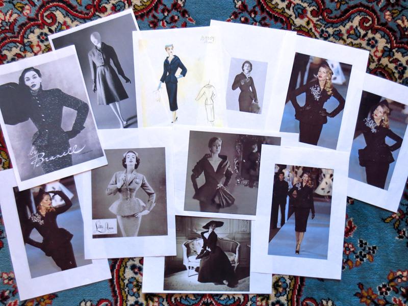 50-tal Dior kavaj inspiration