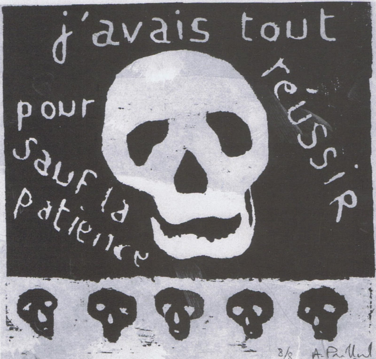 Alain PRILLARD EN SA DEMEURE, Texte inédit de Joël GAYRAUD