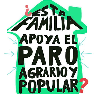 ¿esta familia apoya el PARO agrario y popular?