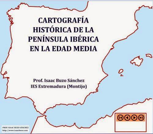 Mapa España Edad Media.