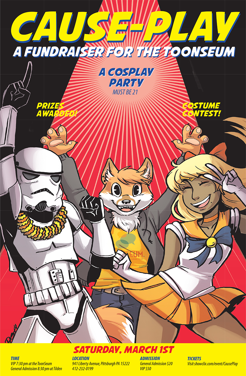 cosplay for a cause it's not Most people have heard of cosplay but fewer have heard or understand causeplay if you are reading this chances are you know what cosplay is in case you don't, this is short for costume.