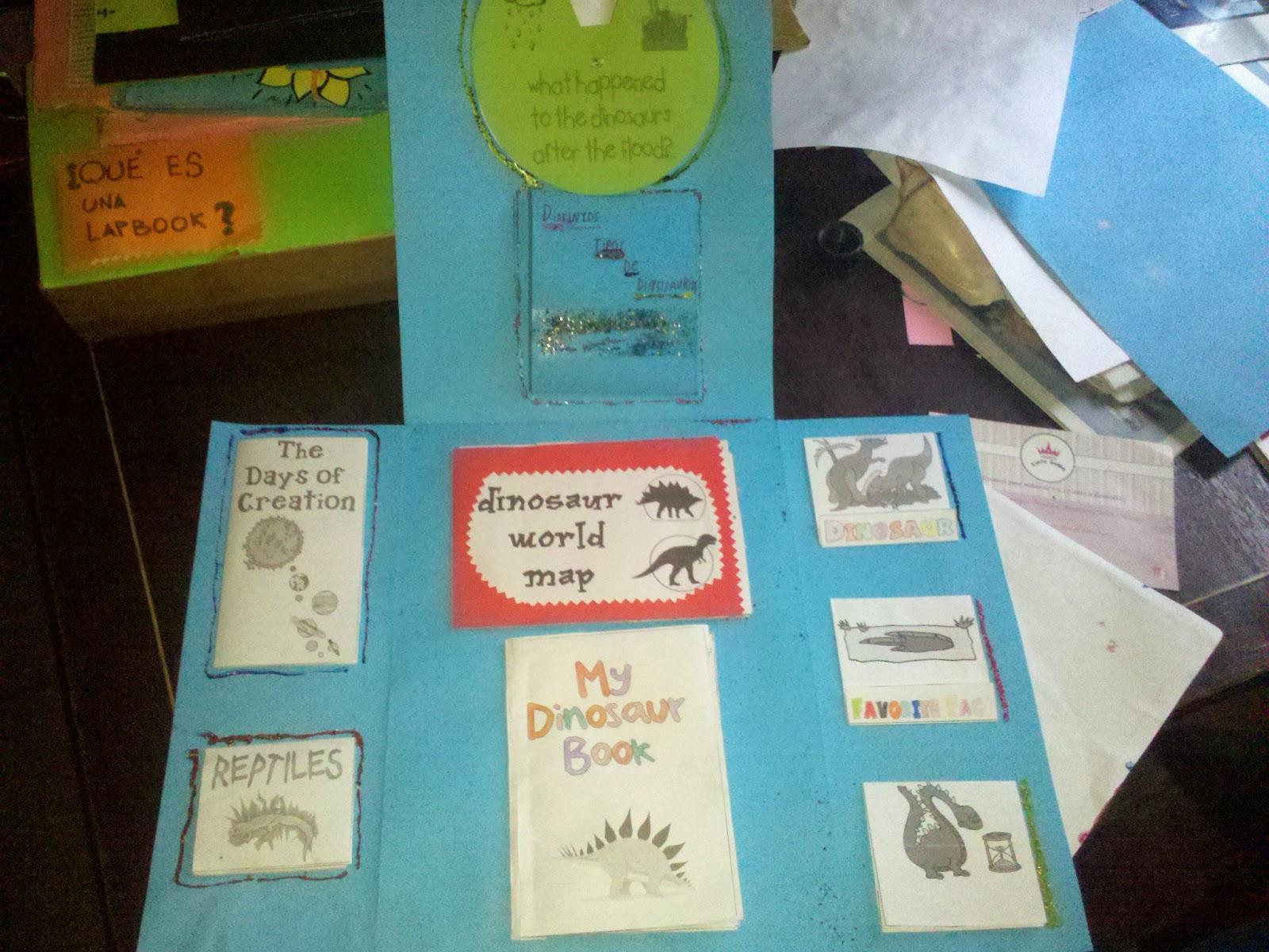 Lapbook Dinosaurios (con descargable) - Educo en casa